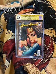 Wonder Woman 75th Anniversary CGC SS 9.6 5x Signed