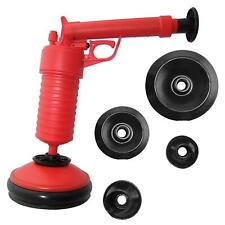 More details for air pump drain blaster sink bath & plunger pipe unblock blockage remover