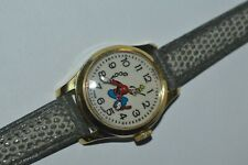 Vintage Bradley GOOFY Watch Wind Up Swiss Made 25 mm Classic Rare Works Fine