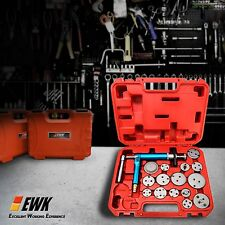 16pc Air Gun Pneumatic Brake disc Caliper Piston Compressor Master Kit wind back