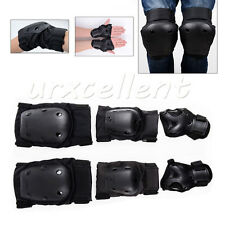 Skateboard Adults Protector Protective Gear Knee Elbow Palm Pad Set Guard Sports