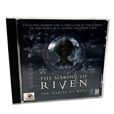 The Making Of Riven The Sequel To Myst PC/Mac CD-ROM Red Orb 1998 for Windows 95