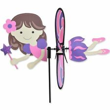 "Pink Fairy 15"" Whirligig Staked Wind Spinner Pr 25178"