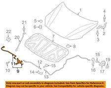 HYUNDAI OEM 17-18 Elantra Hood-Latch Lock Release 81130F2010