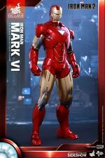IRON MAN 2 - Iron Man Mark VI 1/6th Scale Action Figure MMS339 (Hot Toys) #NEW