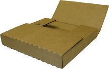 """(10) 07BC01VD 7"""" Single Cardboard Vinyl EP Record Shipping Boxes Mailers 45RPM"""