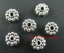 800pcs Tibet Silver Nice Daisy Spacer Beads 5x1.5mm 805