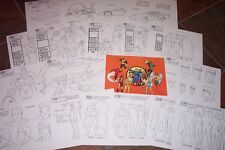 CHALLENGE OF THE SUPER FRIENDS MODEL PACK HANNA BARBERA Artist Reference Guide