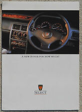 Rover Metro 620 finance price brochure perfect condition