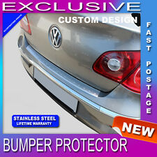 BPVW715  VW Passat CC  2008-up  REAR BUMPER SILL PROTECTOR STAINLESS STEEL