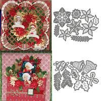 Christmas Snowflake Bell Metal Cutting Dies Scrapbook Embossing DIY Ornament