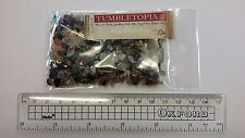 50g BAG Mixed Semi Precious Gemstone Pieces Chips TUMBLETOPIA TUMBLESTONES