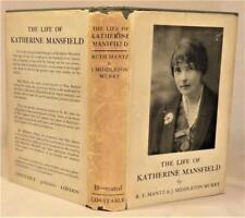 THE LIFE OF KATHERINE MANSFIELD. R.E. Mantz & J. Middleton Murry, UK 1st 1933