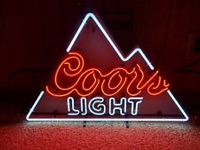 Coors Light Mountain Design Neon Sign