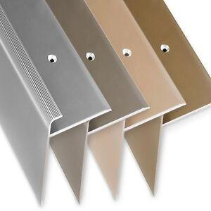 F-Form Treppenkante, Treppenkantenprofil, Treppenwinkelprofil, Treppenprofil