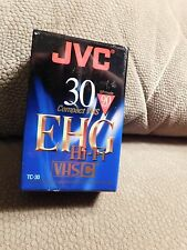 JVC TC-30EHGB HI-FI Compact VHS-C Blank Camcorder Tape New Factory Sealed