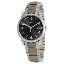 Timex Style Elevated Black Dial Two-tone Mens Watch T2n949