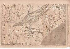 1864 Leslie's - December 10 - Map of General Sherman's Advance across the South