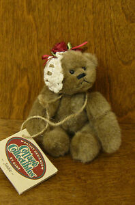 """Ganz Cottage Collectible CC242 SADIE, 5"""" by Carol E Kirby, Wobble Joints NEW/Tag"""