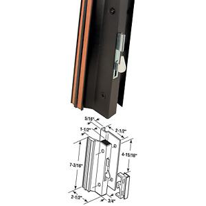 Prime-Line Products C 1001 Sliding Glass Door Handle Set, 4-15/16 in., Extrud...