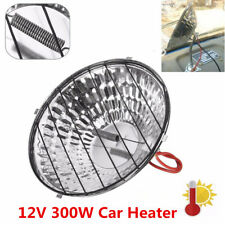12V Car Heater Portable Defroster Warmer Demister Vehicle Window Heating 300W