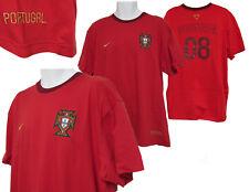 Vintage Nike Portugal camiseta de Fútbol Away blanco grande L