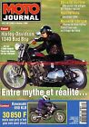 MOTO JOURNAL 1169 Interview Mickaël PICHON HARLEY DAVIDSON 1340 KAWASAKI KLR 650