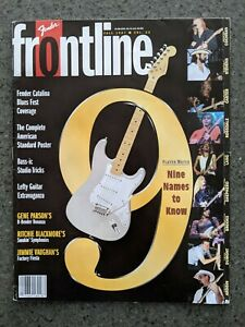 Fender Frontline Guitar Bass Magazine Fall 1997 Gear Products Guide