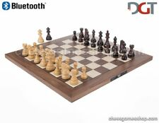 DGT BLUETOOTH Walnut eBoard with ROYAL pieces - electronic chess - sensory
