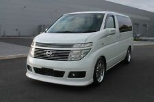 2003 NISSAN ELGRAND XL 3.5 V6 TOP SPEC ONLY 46,000 MILES FRESH IMPORT LEATHER