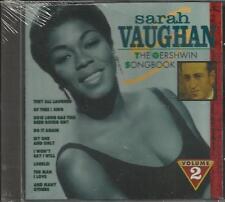 Sarah Vaughan - The Gershwin Songbook -VOL.2 CD ALBUM BRAND NEW,FREE SHIP USA