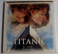 LASERDISC - PAL - TITANIC - avec Leonardo Dicaprio, Kate Winslet