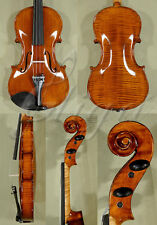 SHINY 4/4 INTERMEDIATE LEVEL 'GEMS 1' ANTIQUED VIOLIN CODE: B9916