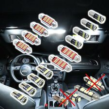 Audi A6 C7 4G Limousine 14x 4014 SMD LED Innenraumbeleuchtung Set WEISS CANBUS