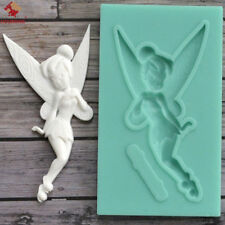 3D Fairy Figure Silicone Fondant Cake Sugarcraft Chocolate Decor Mould Elf Mold
