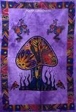 Mushroom Frog Hippie Tapestry Poster Nature Wall hanging Door Decor Bohemian Bug