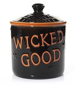 BONEY BUNCH WICKED GOOD COOKIE JAR CANDLE HOLDER YANKEE CANDLE Halloween 2016 SO