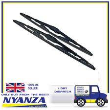 2 x 16 Inch Brand New Conventional Windscreen Standard Wiper Blades