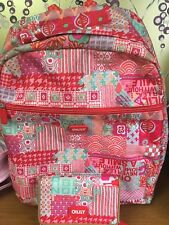 £40 Used Oilily Designer Ruby Backpack &  Wallet Set For Girls/ Ladies &  £5 P