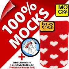 Mocks Corazón Teléfono Móvil MP3 Funda Tipo Calcetín Para IPHONE / 4S 5 5S 5C Se