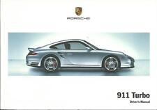 PORSCHE 911 Driver´s Manual 2008  Typ 997 handbook Owner´s manual BA