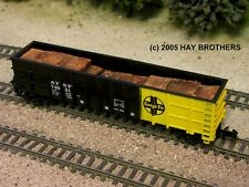Hay Brothers 1967-1978 CRUSHED AUTOS & SCRAP - fits Athearn /MDC Thrall Gondolas