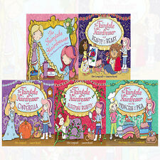 Fairytale Hairdresser Series  Collection By Abie Longstaff 5 Books Pack Set NEW