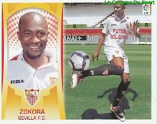05 ZOKORA IVORY COAST ULTIMOS FICHAJES SEVILLA.FC STICKER ESTE LIGA 2010 PANINI