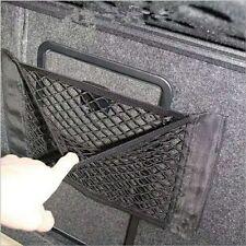 CAR BLACK ORGANIZER BAG SEAT STORAGE CARGO NET HOLDER ELASTIC STRING POCKETS US