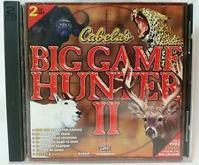 Cabela's Big Game Hunter II 1998 PC Game Virtual Hunting