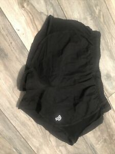 New Victoria Secret Pink Track Shorts Black Women's Small