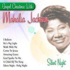 Gospel Christmas with Mahalia Jackson Silent Night (CD, 1998)