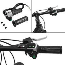 36V Fit Scooter Electric Bike E-Bike Throttle Grips LCD Handlebar Control  IPX5