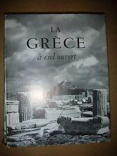 LA GRECE A CIEL OUVERT  photos noir et blanc PAPAIOANNNOU texte Jacquet